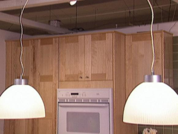 Update Kitchen Lighting Quickly HGTV - Update kitchen lighting