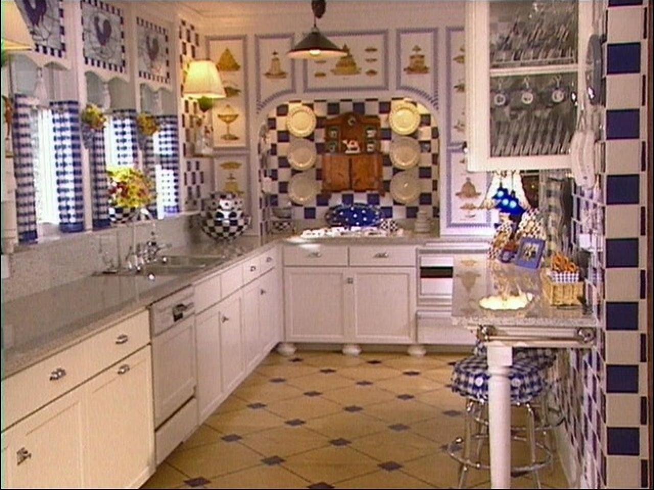 Cos606 4 Kitchen A Blue And White