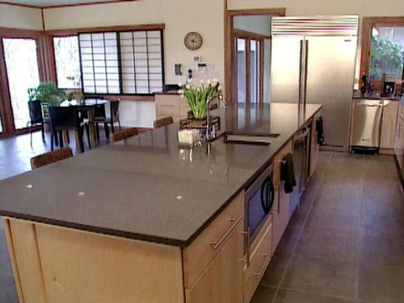 Zen Vibe Inspires Kitchen Hgtv
