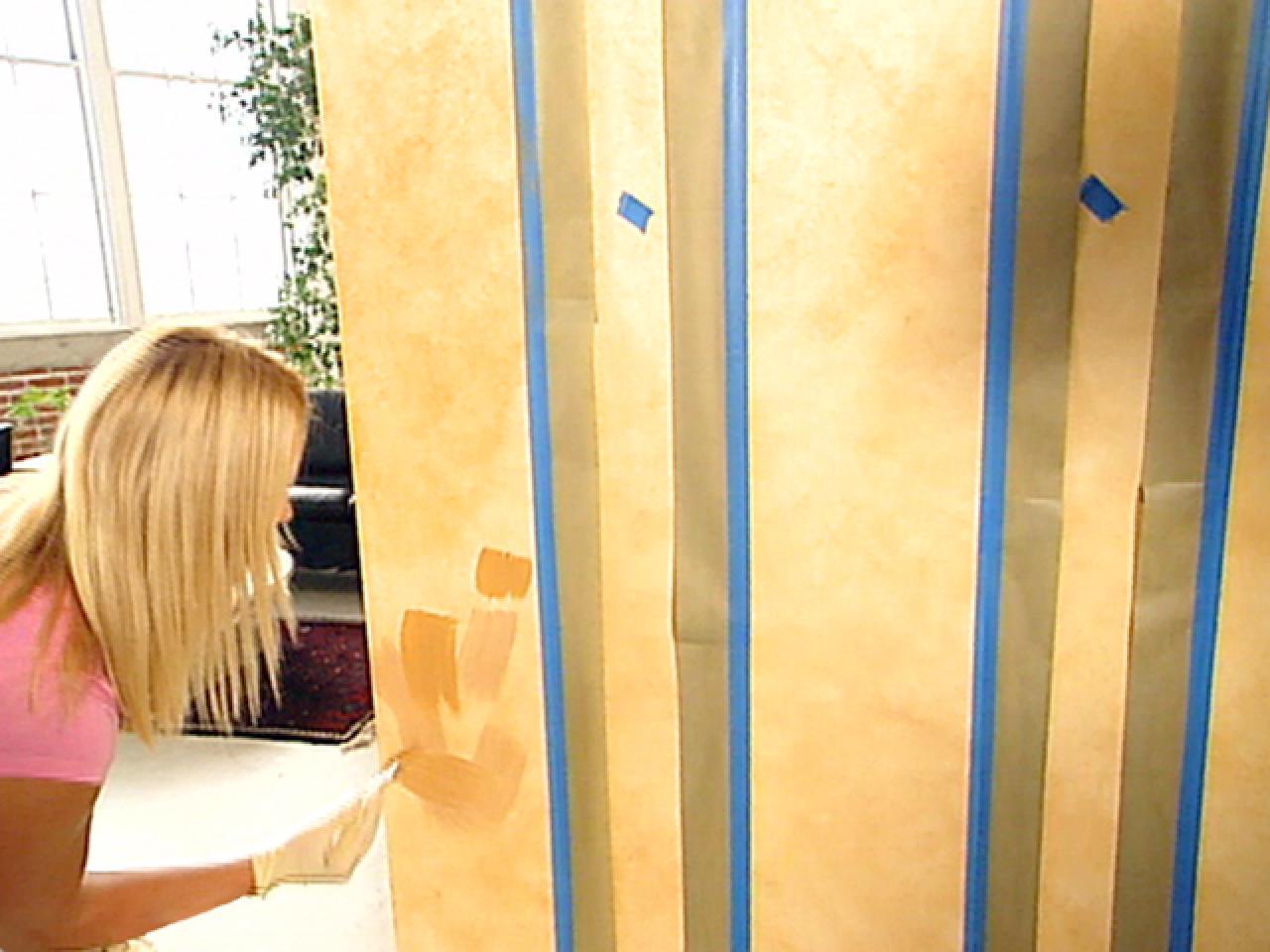 Decorative Paint Technique: Instructions for Painting Parchment ...