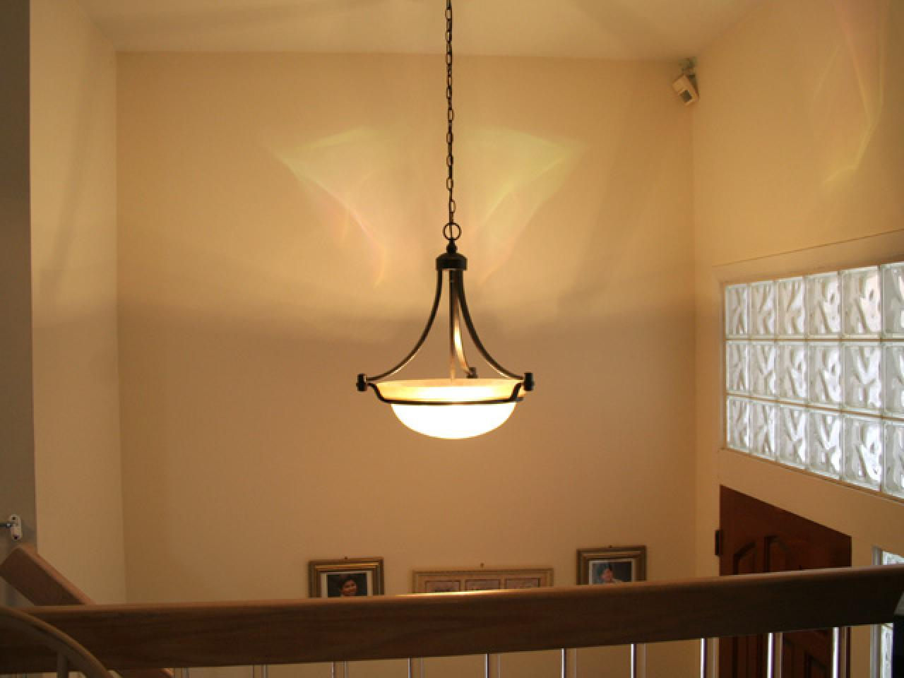 Replacing a light fixture hgtv hdswt1092aftlight arubaitofo Image collections