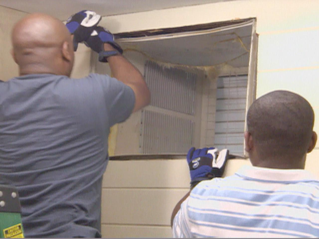 How To Remove An Air Conditioner Hgtv