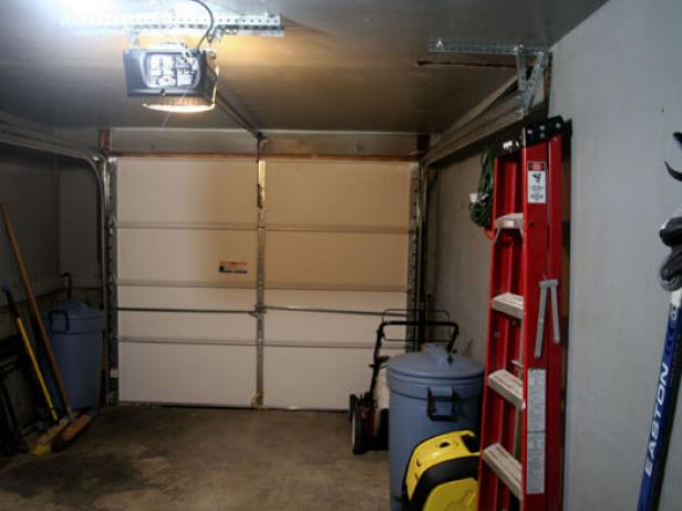 Install Electric Garage Door Opener Hgtv
