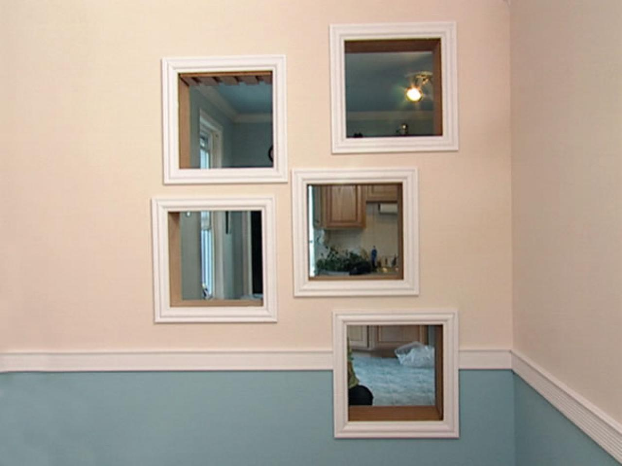 frame around bathroom mirror how to framing mirrors with crown molding hgtv 18375