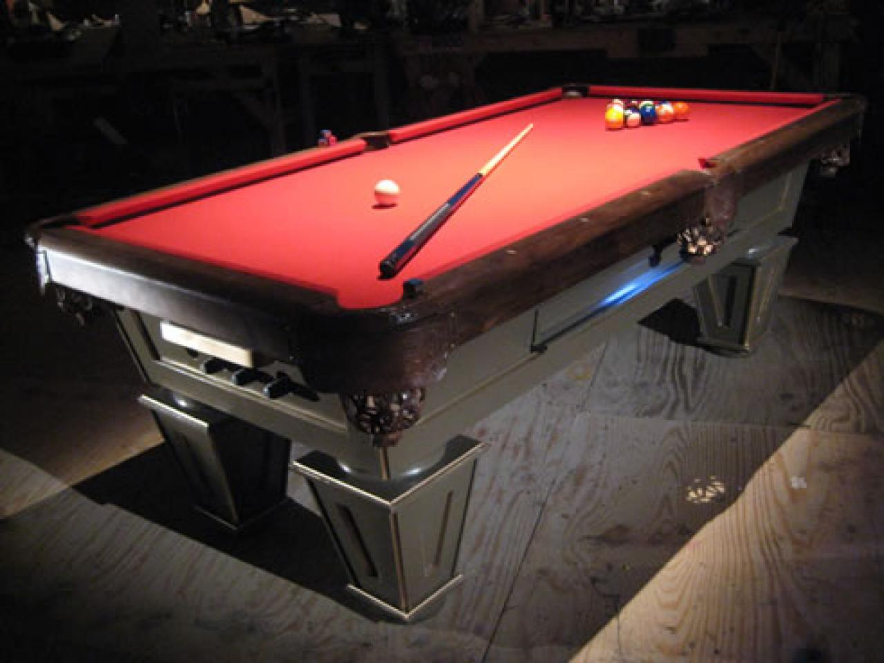 How To Build A Pool Table HGTV - Buy my pool table