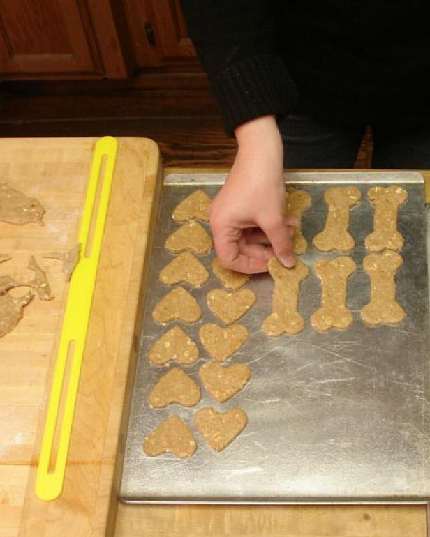 Cut Out Dog Treat Shapes