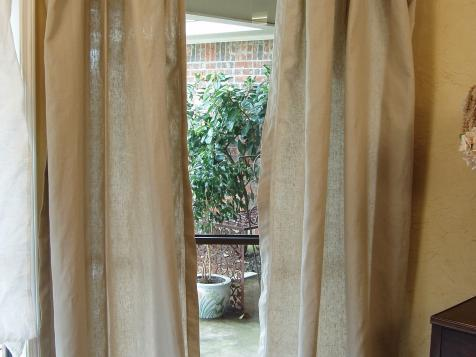 Tablecloth Window Treatment