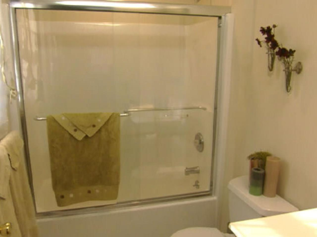 Install Glass Shower Doors HGTV - Bathroom shower glass replacement