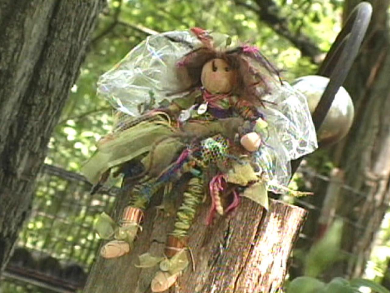 Make A Garden Fairy Doll Hgtv