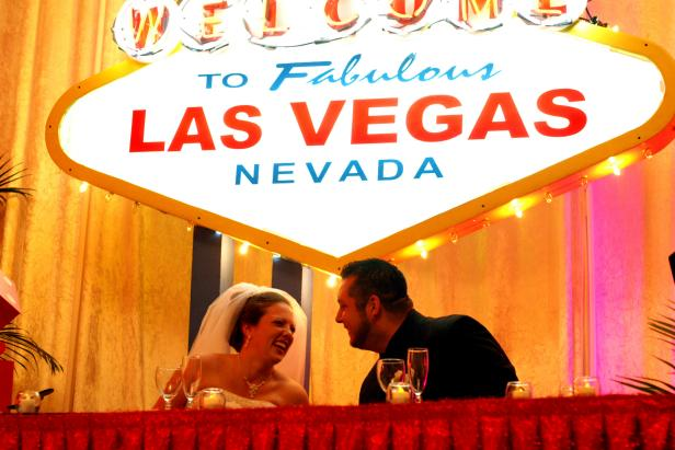 Las Vegas Wedding Reception