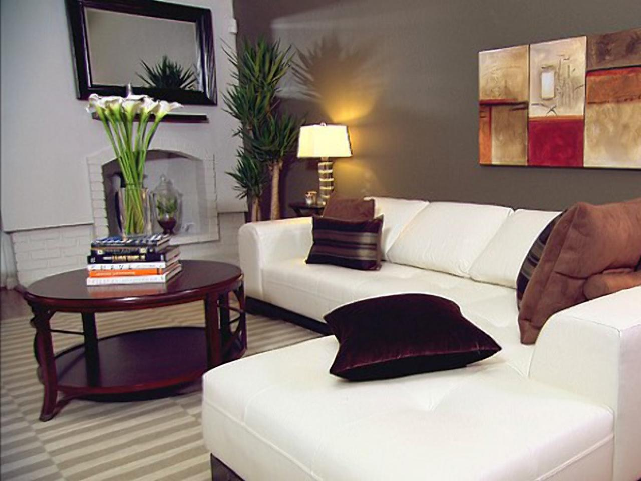 Contemporary classic living room hgtv for Contemporary style decorating ideas