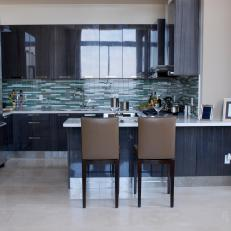 Beautifully Tiled Contemporary Kitchen