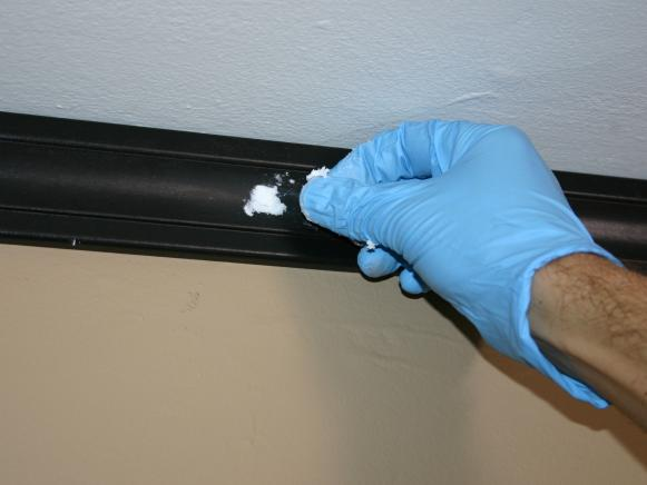 Spackling Ceiling Holes With Caulk