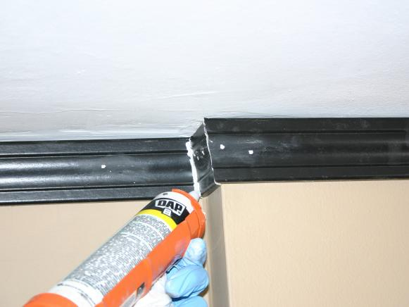 Caulking Crown Moulding