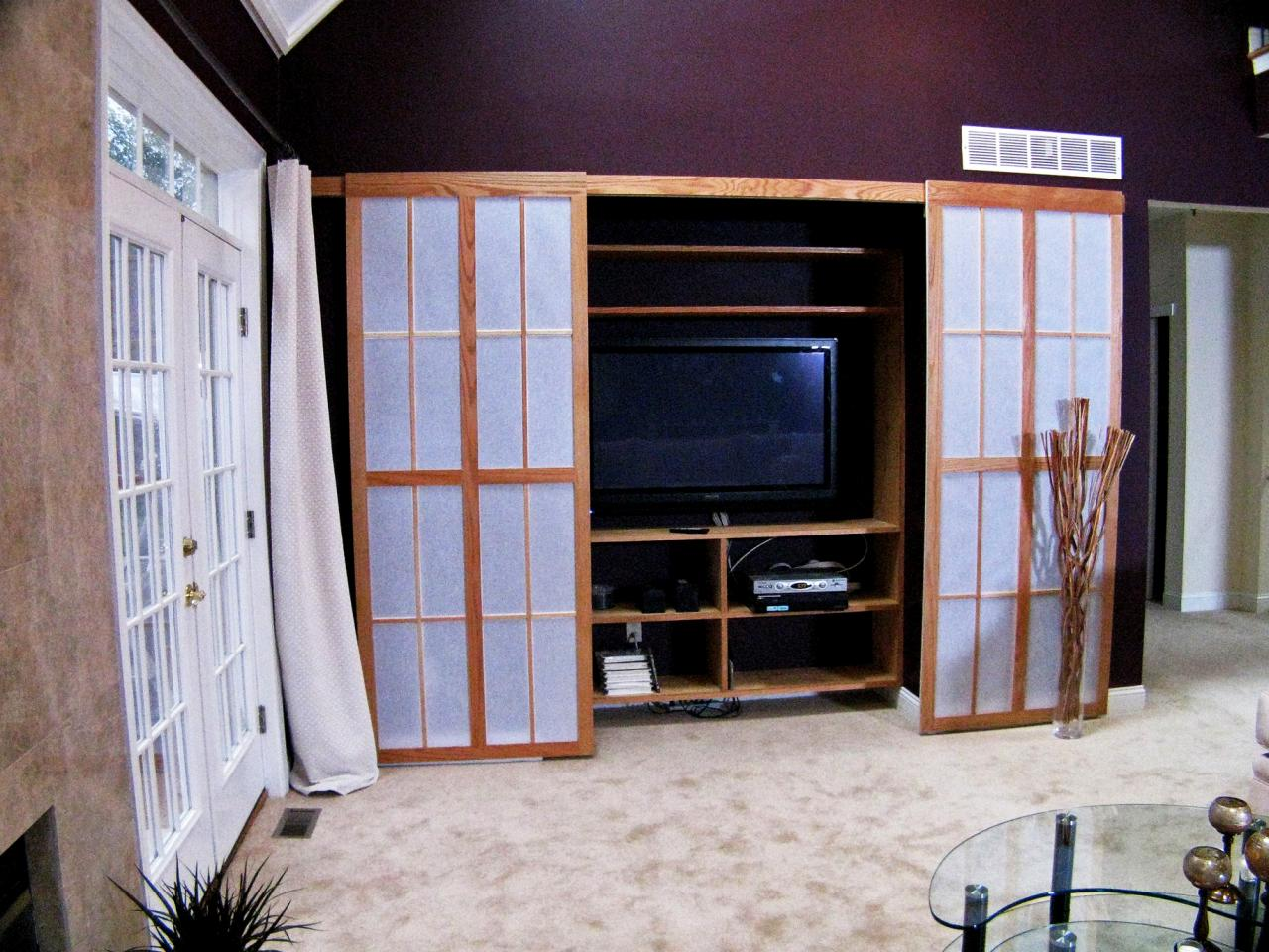 Sliding Shoji Screen Doors Hgtv