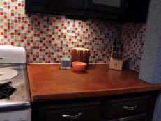 How To Install A Kitchen Tile Backsplash Hgtv - Installing-tile-backsplash
