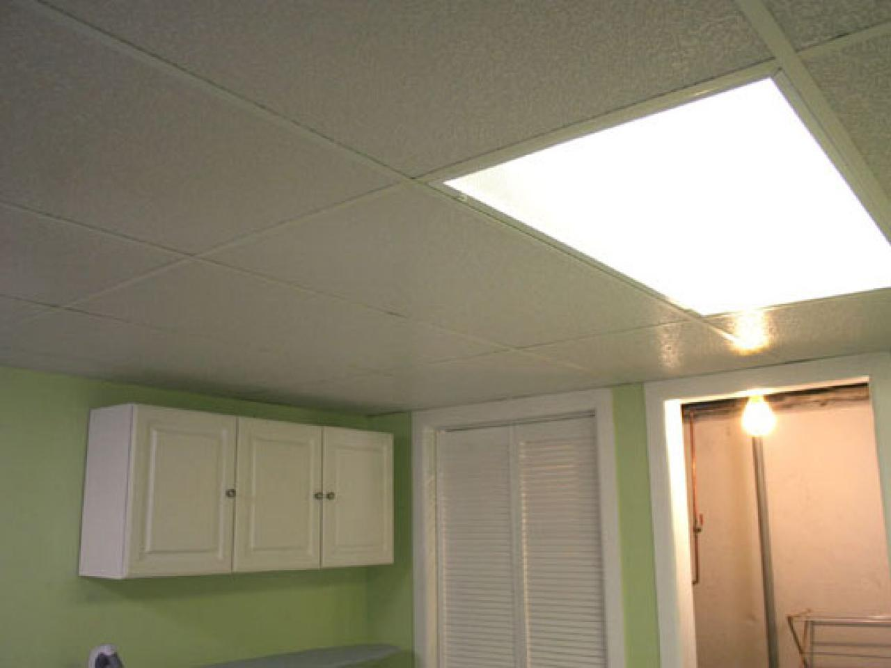 basement ceiling lighting. Installing A Drop Ceiling In Basement Laundry Lighting G