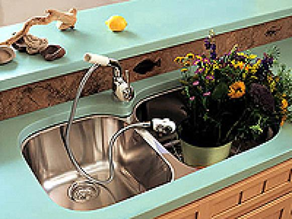 Countertops Concrete Materials And Supplies Kitchens Eco Friendly.  Express_yourself_with_concrete_kitchenrk_2