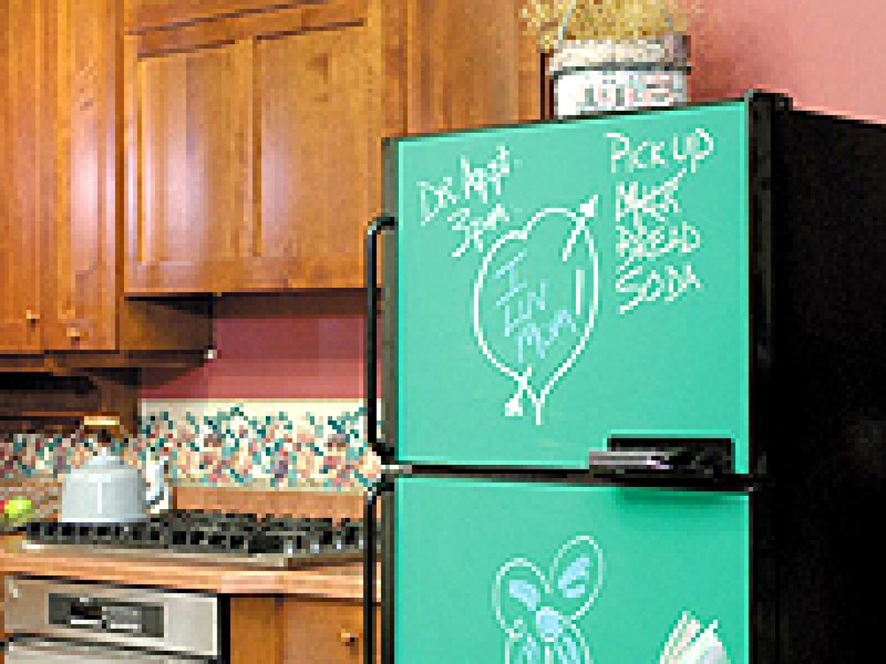 A Facelift for the Fridge | HGTV