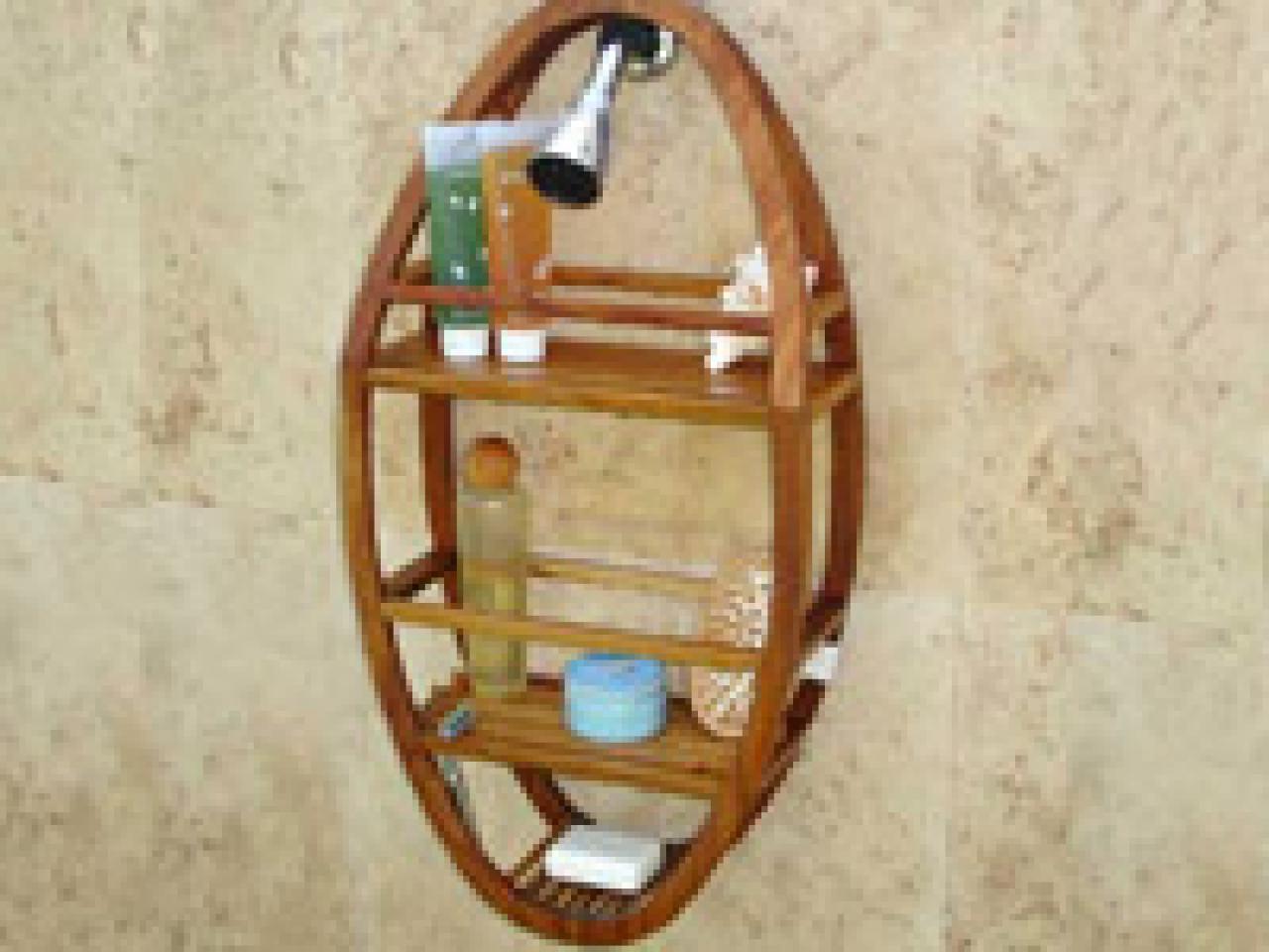 Organizing Your Shower Hgtv