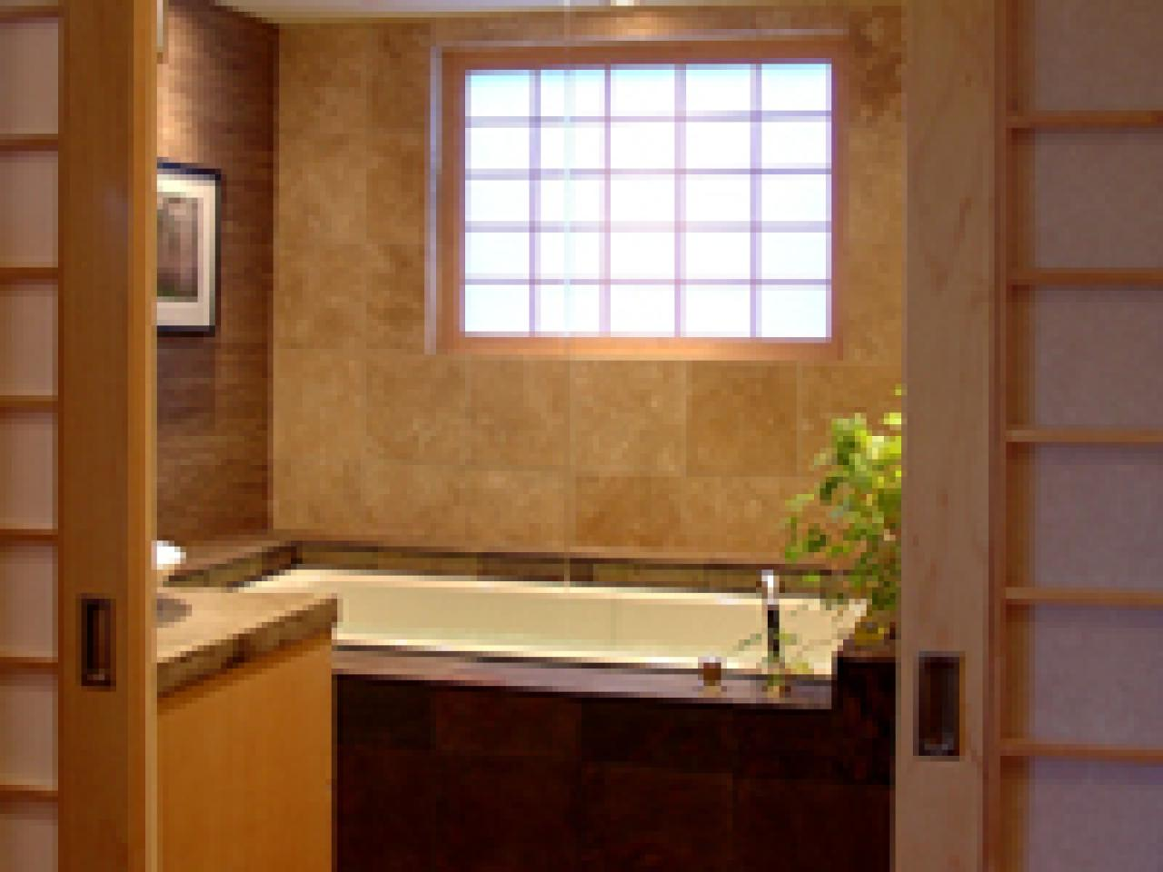 Awe Inspiring Invest In A Soaking Tub For Your Zen Bathroom Hgtv Beutiful Home Inspiration Truamahrainfo