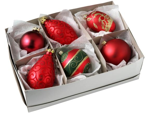 Holiday Ornaments in a Box