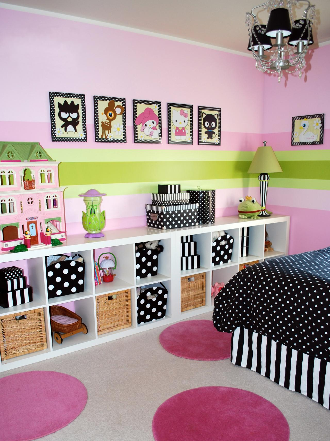 10 decorating ideas for kids 39 rooms hgtv - Room decor ideas for girls ...