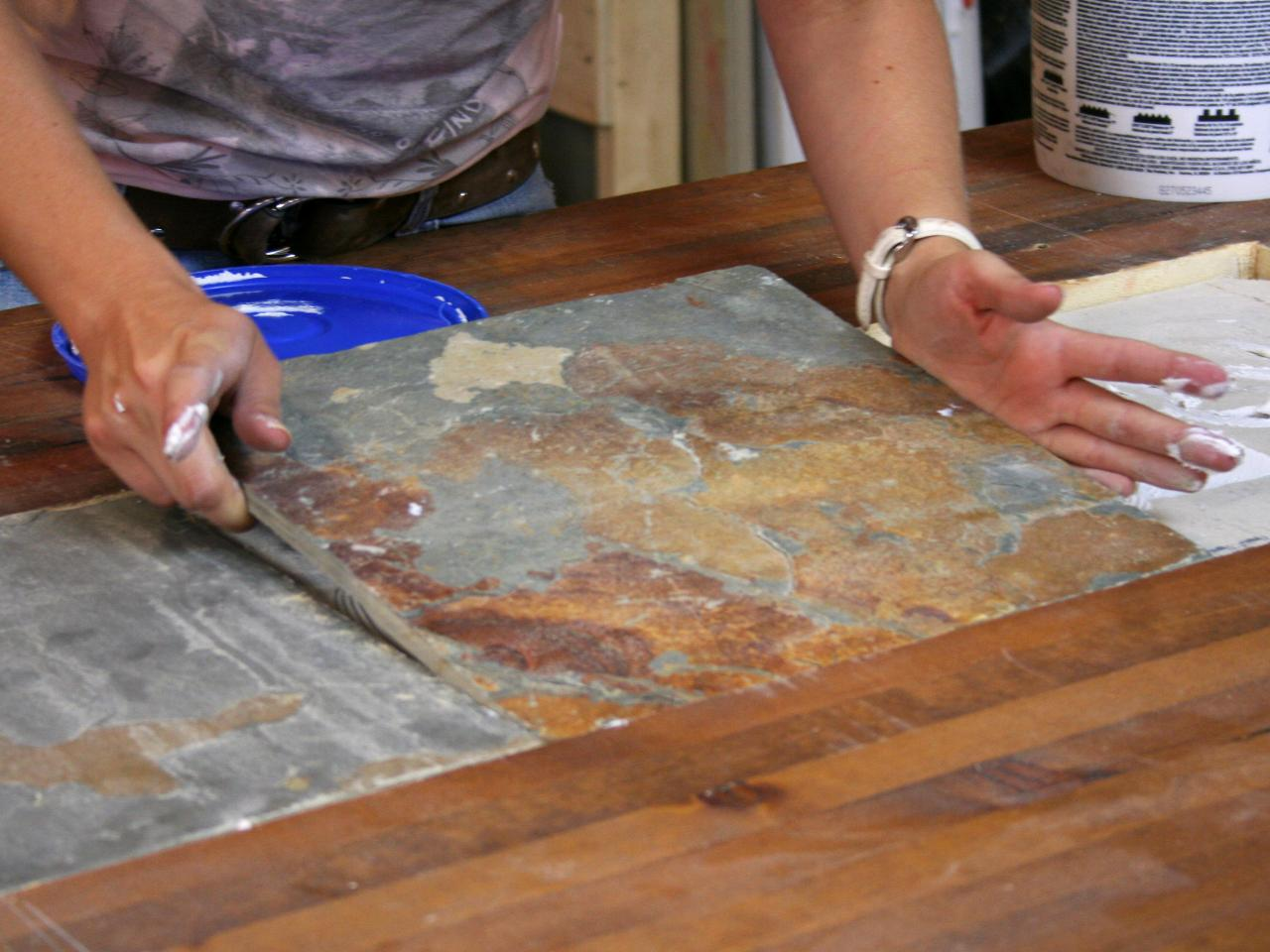 Adding Recessed Tile To A Dining Table Hgtv