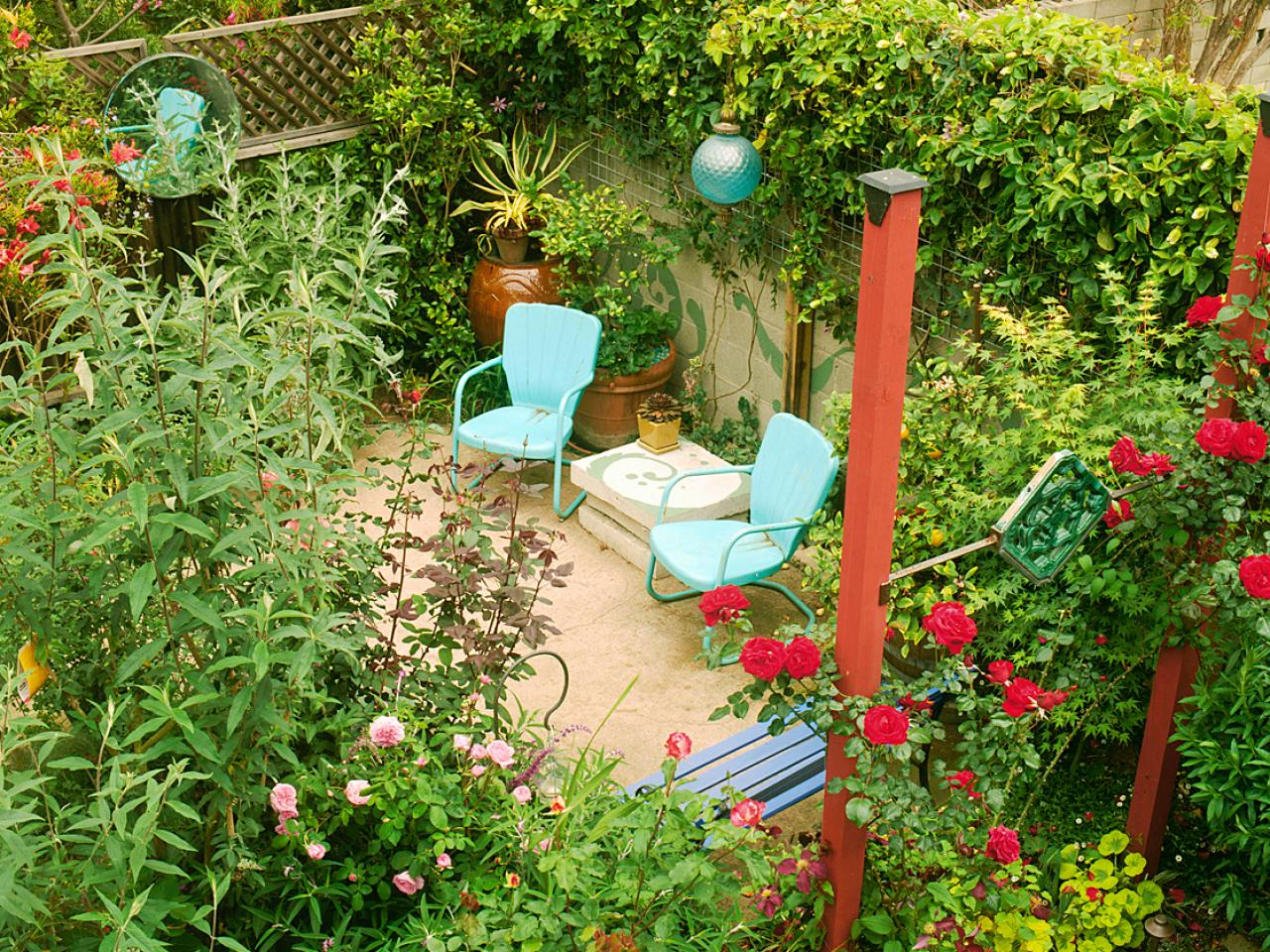Small Garden Design Tips Hgtv