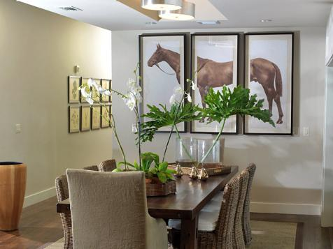 Dining Room From HGTV Green Home 2009