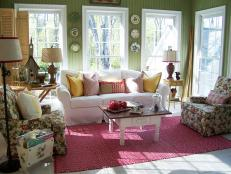 Colorful Cottage Sunroom