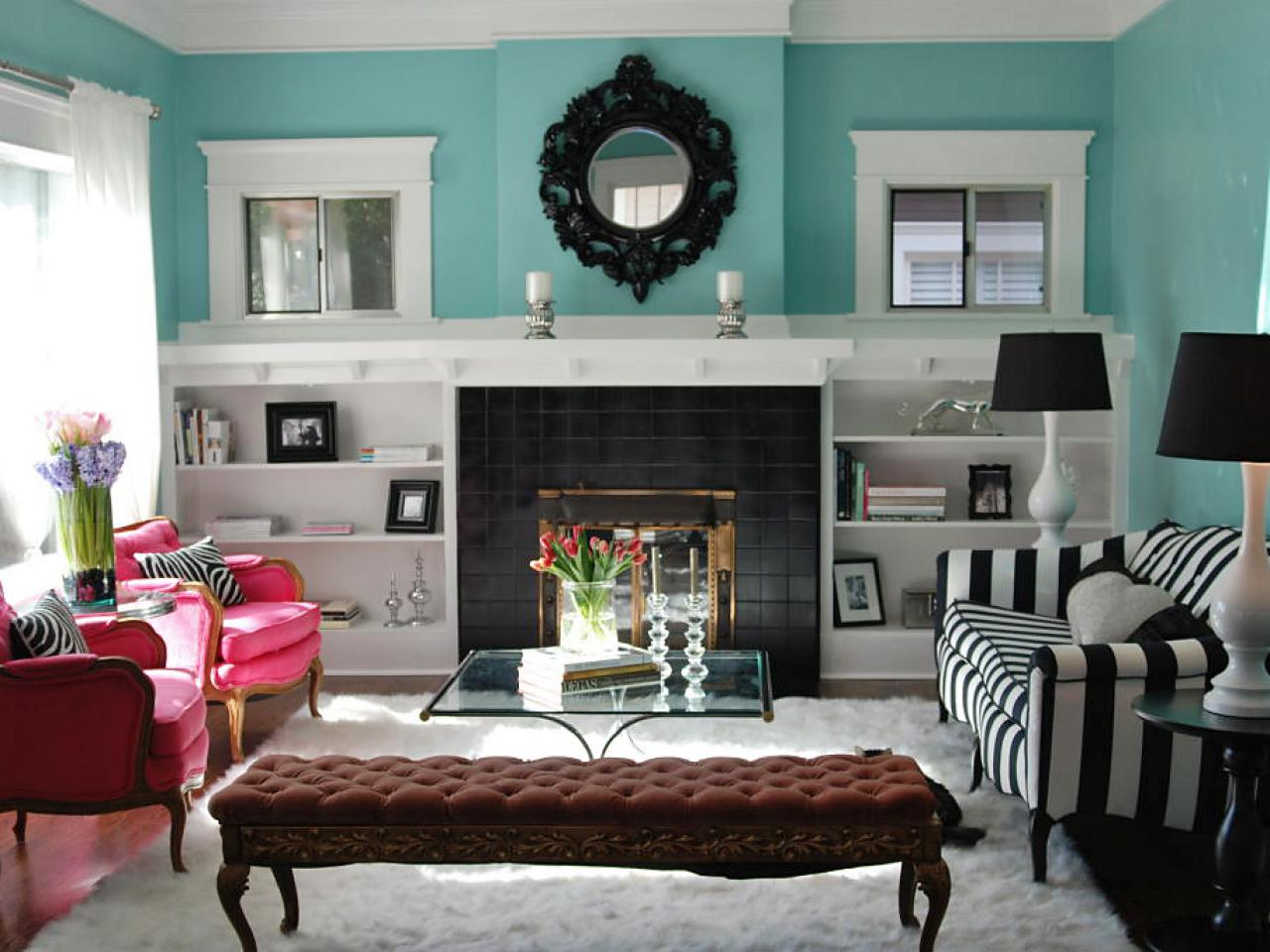 How To Build Bookshelves Around A Fireplace
