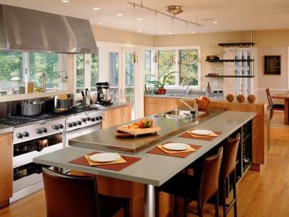 Kitchen Design: 10 Great Floor Plans | HGTV
