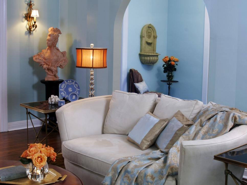 nice looking blue modern living room | Trend: Monochromatic Living Rooms | HGTV