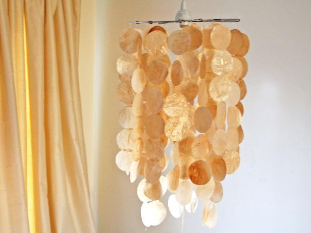 Shell Pendant Light