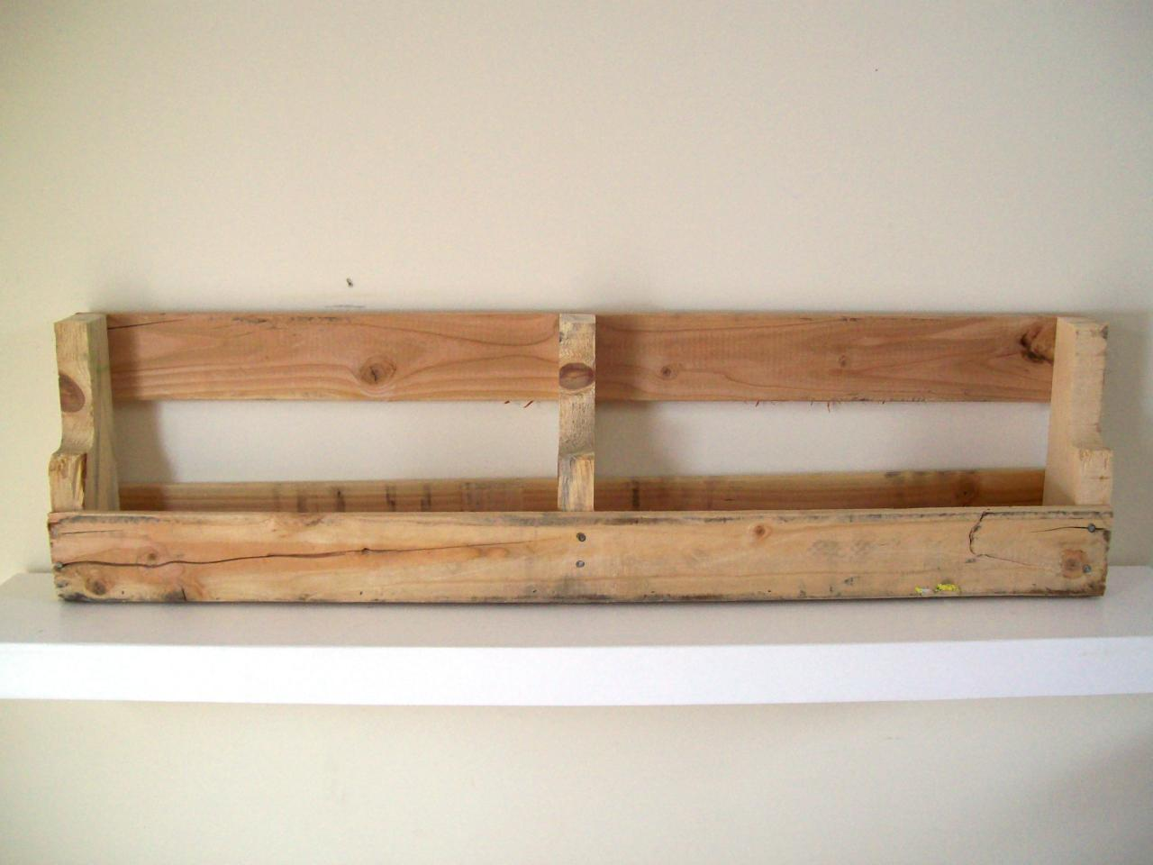 Reclaimed Wood Shelves Step 4