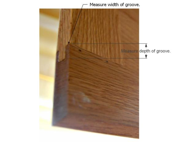 Installing Glass Inserts to Kitchen Cabinets: Remove Cabinets and a Diagram for Measuring
