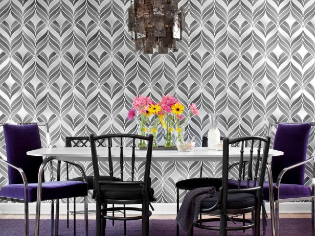 Create a Bold Dining Room With Wallpaper | HGTV