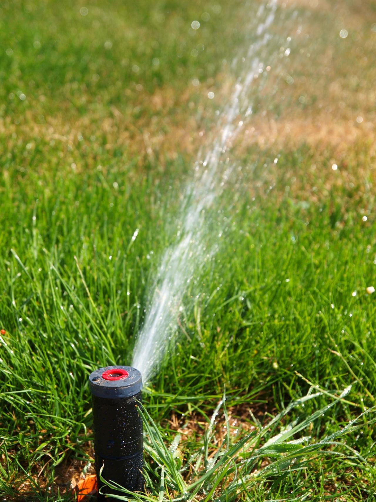 How To Repair Your Lawn Sprinkler Hgtv