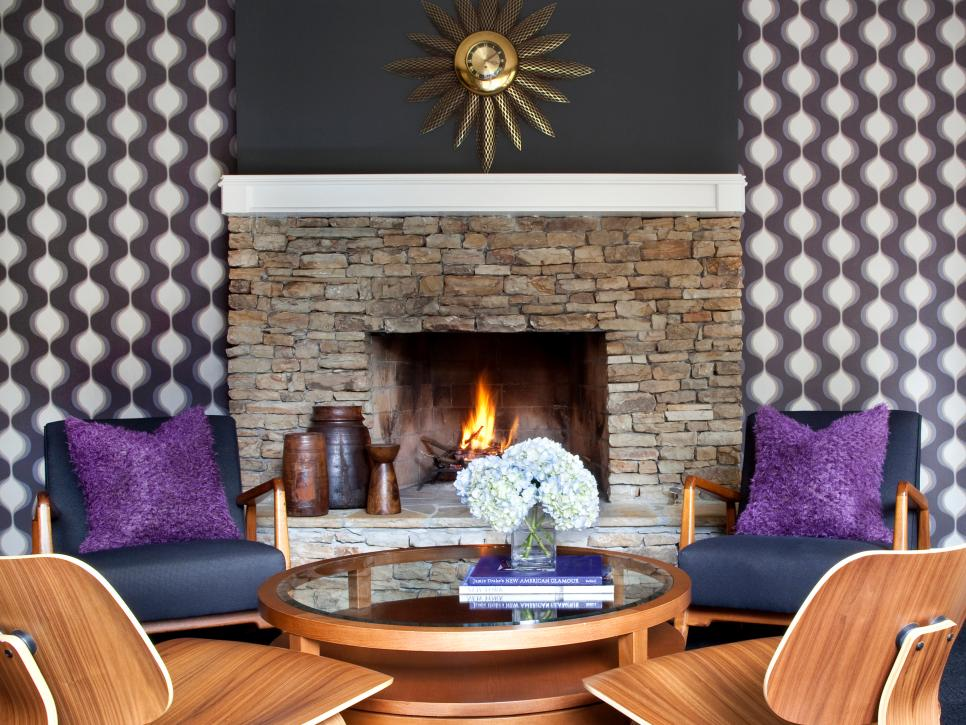 Cozy Fireplaces Hgtv