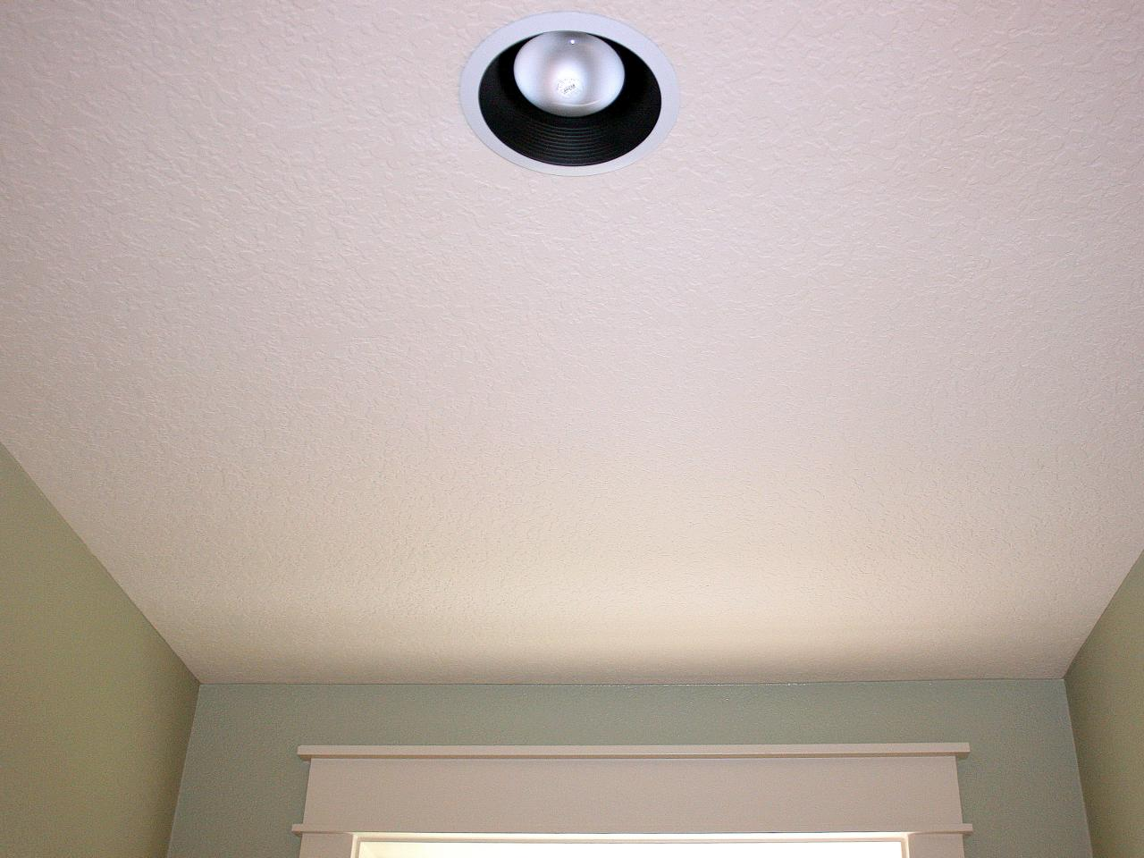 Replace Recessed Light With A Pendant Fixture Hgtv Installing Ceiling Fan Wiring Choose To Convert