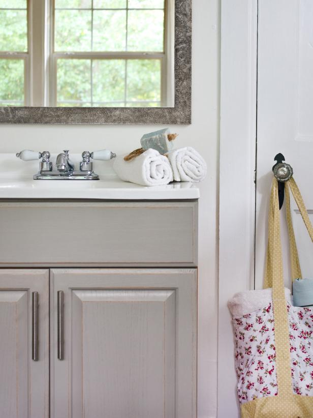 Paint Bathroom Vanity Ideas updating a bathroom vanity | hgtv