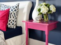 Budget DIY Project: Turn One Table Into Two Nightstands