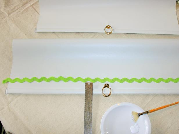 Cut and Add Decorative Trim