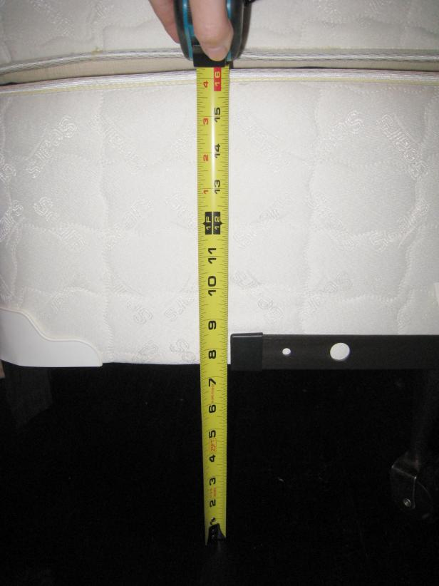 Measure for the Bed Skirt