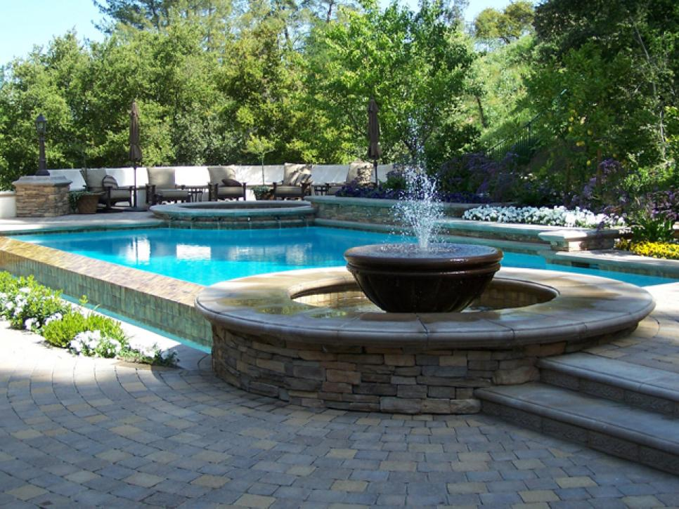 Visio Swimming Pool Design : Swimming pool features hgtv