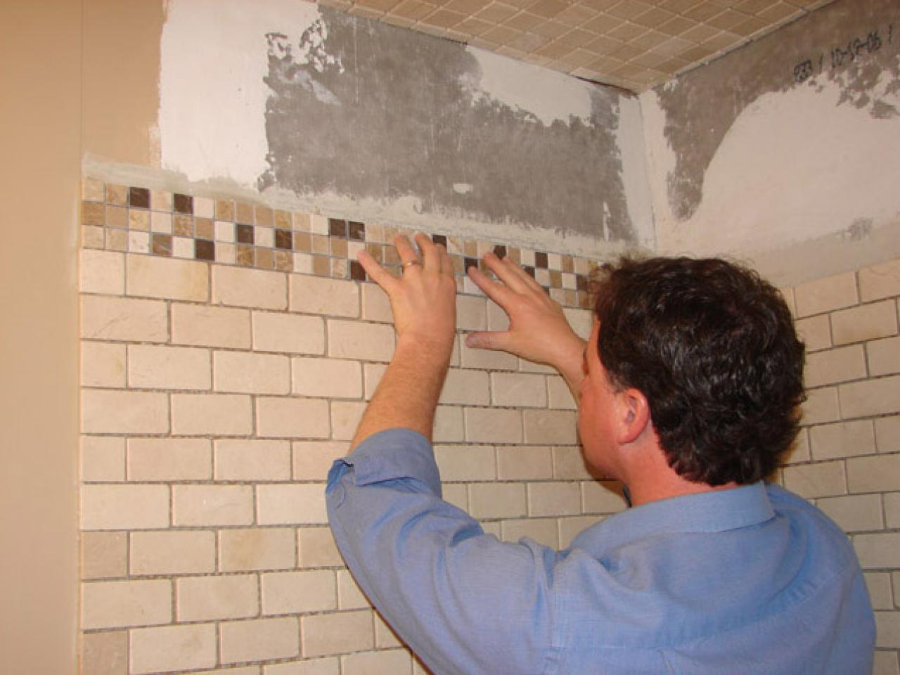 How to install tile in a bathroom shower hgtv dailygadgetfo Choice Image