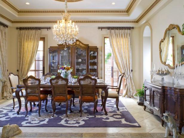 Chandelier Lights Immaculate Dining Room Decor