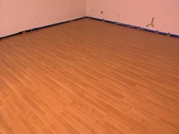 How to install snap together laminate flooring hgtv - Laminate or wood flooring ...