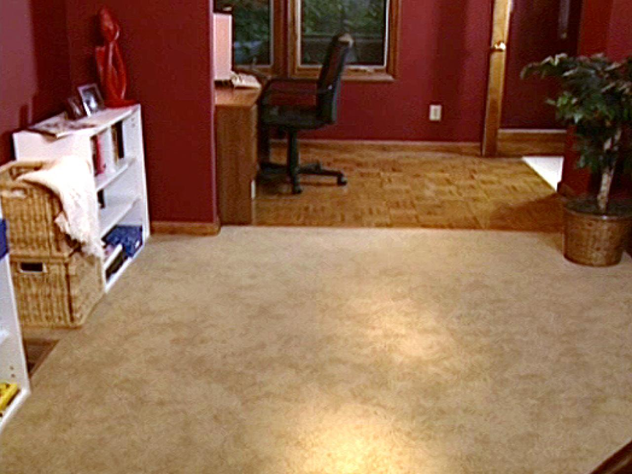 How To Install Wall Carpeting
